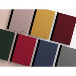 Notebook avec couverture couleur