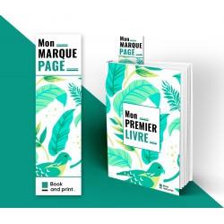 Marque-Page recto seul (à partir de 10 ex)