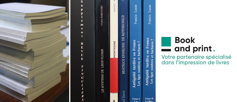 bookandprint - Le spécialiste de la fabrication de livres pour les professionnels de l'impression et de la communication